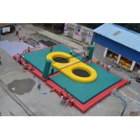 Fireproof PVC Tarpaulin Inflatable Volleyball Court Customized Size 18*14.5m Manufactures