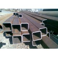 ERW Square Iron Pipe , Galvanised Steel Square Tube Low Carbon Manufactures
