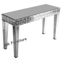 Fashionable Mirrored Console Table For Living Room 120 * 40 * 78cm Size Manufactures
