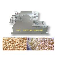 Large Capacity Grain Puffing Machine , Full Automation Puffed Food Machine Manufactures