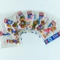Puffy Stickers with Soft Transparent PVC, Available in Various Sizes and Designs Manufactures