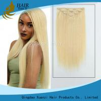 Buy cheap Wholesale Best Seling Remy Human Hair Clip In Hair Extension, Double Drawn Wholesale Clip In Hair Extension from wholesalers