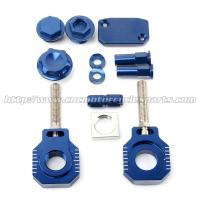 Quality High Strength MX Bling Kit Ktm Chain Adjuster Blocks For HUSABERG TE FE for sale