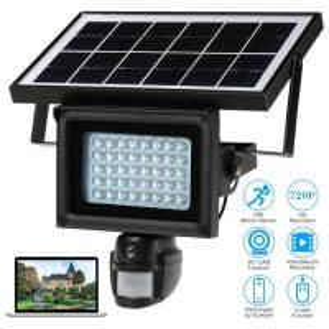Smart Alarm Motion Sensor Security Camera , Home Video Surveillance Systems Solar Manufactures
