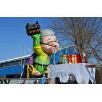 4m Decorative Inflatable Cartoon Characters Colorful With Durable PVC Tarpaulin