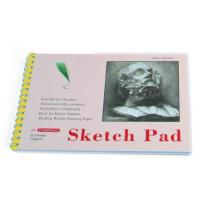 White Paper Pencil Sketch Pad Drawing Book , Spiral Sketch Drawing Pad Manufactures
