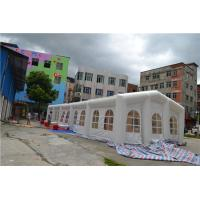 White WedingTent  Pvc Tarpaulin Inflatable Event Tent  For Advertising Manufactures