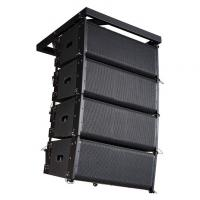 "Dual 10"" Line Array Speakers Professional Audio Systems For Outdoors Manufactures"