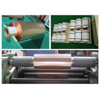 FPC / FCCL RA Copper Foil Sheet Roll , SGS 99.95% Purity Pure Copper Foil Manufactures