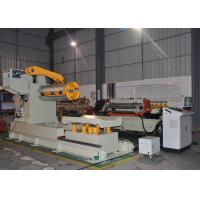 CE High Precision Coil Feeder Machine , Zig Zag Servo Auto Feeder Machine Manufactures