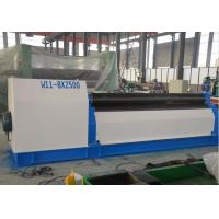 Sheet Mechanical Plate Rolling Machine / 3 Roll Bending Machine For Sale Manufactures