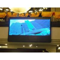 China HDTV / PAL  full color super slim  led screen p6 indoor 1/10 static scan with 16bit grey scale on sale