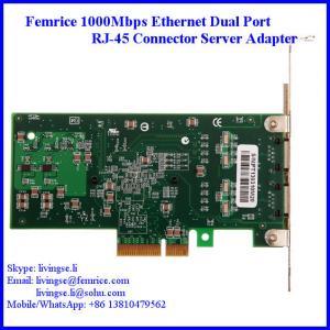 Femrice 1000Mbps RJ-45 Connector Gigabit Ethernet Server Network Card 10002PT Manufactures