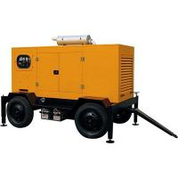 Mobile Electric Generator Yuchai Electronic Injection Fuel System Powered 80KW Manufactures