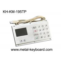 Anti - Vandal Industrial Keyboard with Touchpad Stainless Steel Material Manufactures