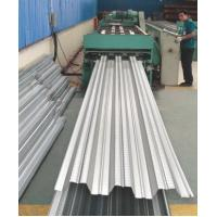 China Galvanized Corrugated Steel Roofing Sheets / Floor Deck For Muti - Floor Buildings on sale