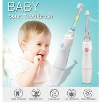 Baby Care Waterproof Kids Rechargeable Electric Toothbrush With Observing Lamp Manufactures