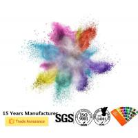 Pure Outdoor Powder Coating SGS Certification Excellent Corrosion Protection Manufactures