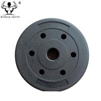 Customized Size Fitness Weight Plates Cement For Improving Muscle Tone Manufactures