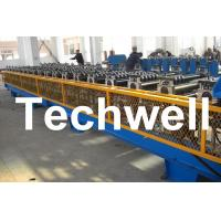 7.5KW High Speed Double Deck / Layer Roll Forming Machine With Automatic Hydraulic Cutting Manufactures