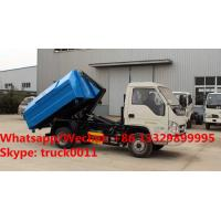 HOT SALE! China Forland 4x2 Roll off Garbage trucks, Factory sale good price Forland 4*2 LHD wastes collecting vehicle Manufactures