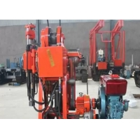 GK-200 Diesel Power Core Borehole Drill Rig With 200 Mm Diameter For Drill Manufactures