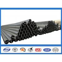 ASTM A36 500KGF Design Load 30FT 11.9M Electric Power Pole for Philippines Transmission Line Manufactures