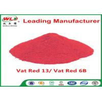 Indigo Clothes Dye C I Vat Red 13 Vat Dyes Red 6B Not Dissolved In Water Manufactures