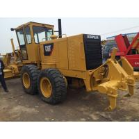 Road Construction Used Motor Grader , Cat 140h Motor Grader 14' Moldboard Manufactures