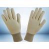 Natural White 100% Cotton Work Gloves No Fluorescent Brightener Added Manufactures