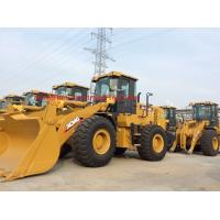 Yellow Color Compact Track Loader , Articulated Type Mini Wheel Loader Manufactures