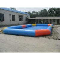 Durable PVC Inflatable Family Swimming Pool , Water Pools For Park Manufactures