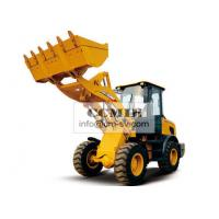 Quality 6000kg Operation Weight XCMG Front End Wheel Loader , 0.93cbm Capacity Mini for sale