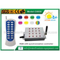 Synchronization LED Light Controller With Handset For RGB Underwater Light Manufactures