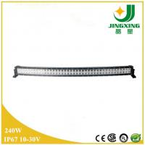 China IP67 Cree Led Light Bar Curved Off Road Led Light Bar 240w Car Led Light Bar on sale