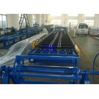 China Mould Hydraulic Cutting Roof Panel Roll Forming Machine 15M / Min Processing Speed on sale
