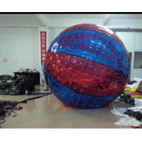 Colorful Large PVC Inflatable Water Walking Ball For Amusement Park Manufactures