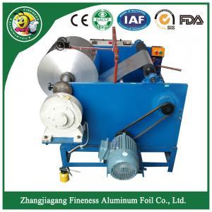 Alibaba china hot sell aluminium foil rewinding cutting paper  machine Manufactures