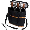 3 Bottle Wine Carrier Bottle Cooler Tote Bag With Bottle Opener Manufactures