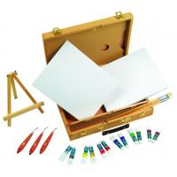 Multi Function Art Painting Set Paint Boxes For Artists 39 X 30 X 8cm Manufactures