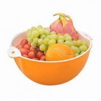 Fruits Plate, FDA Certified, Made of PP, Customized Designs and Colors are Accepted Manufactures