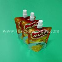 Food grade stand up pouch with spout for 200ml orange juice Packing( doy packing) Manufactures