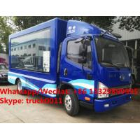 Quality High quality and competitive price FAW brand mobile LED advertising truck for sale, Good price FAW P8/P6 LED truck for sale