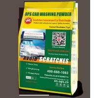 Touch free concentrated Car wash powder no smell environmental friendly resolving quickly,shining tires Manufactures