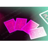 100% Plastic Fournier Marked Decks Marked Playing Cards For European Casinos Manufactures