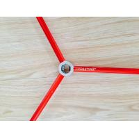 Red and Green Color Anodized Aluminum Round Tube / Pipe Used For Tent Manufactures