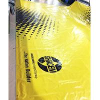Buy cheap 800gsm Glossy PVC Coated Tarpaulin / Inflatable Tents Plastic Tarpaulins Fabric from wholesalers