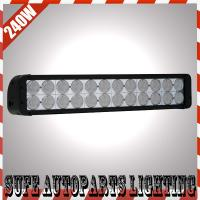 9-70V 240W CREE LED Work Light Bar ATV Truck SUV Offroad 4WD Jeep LED Bar Offroad Light Manufactures