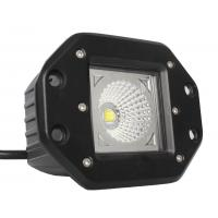 Off Road Cars LED Light Pods 15W Power  Spot / Flood Beam 1000 Lumen Manufactures