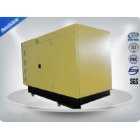 Three phase 30 kw prime power Soundproof  Diesel Generator Set with Cummins Engine Manufactures